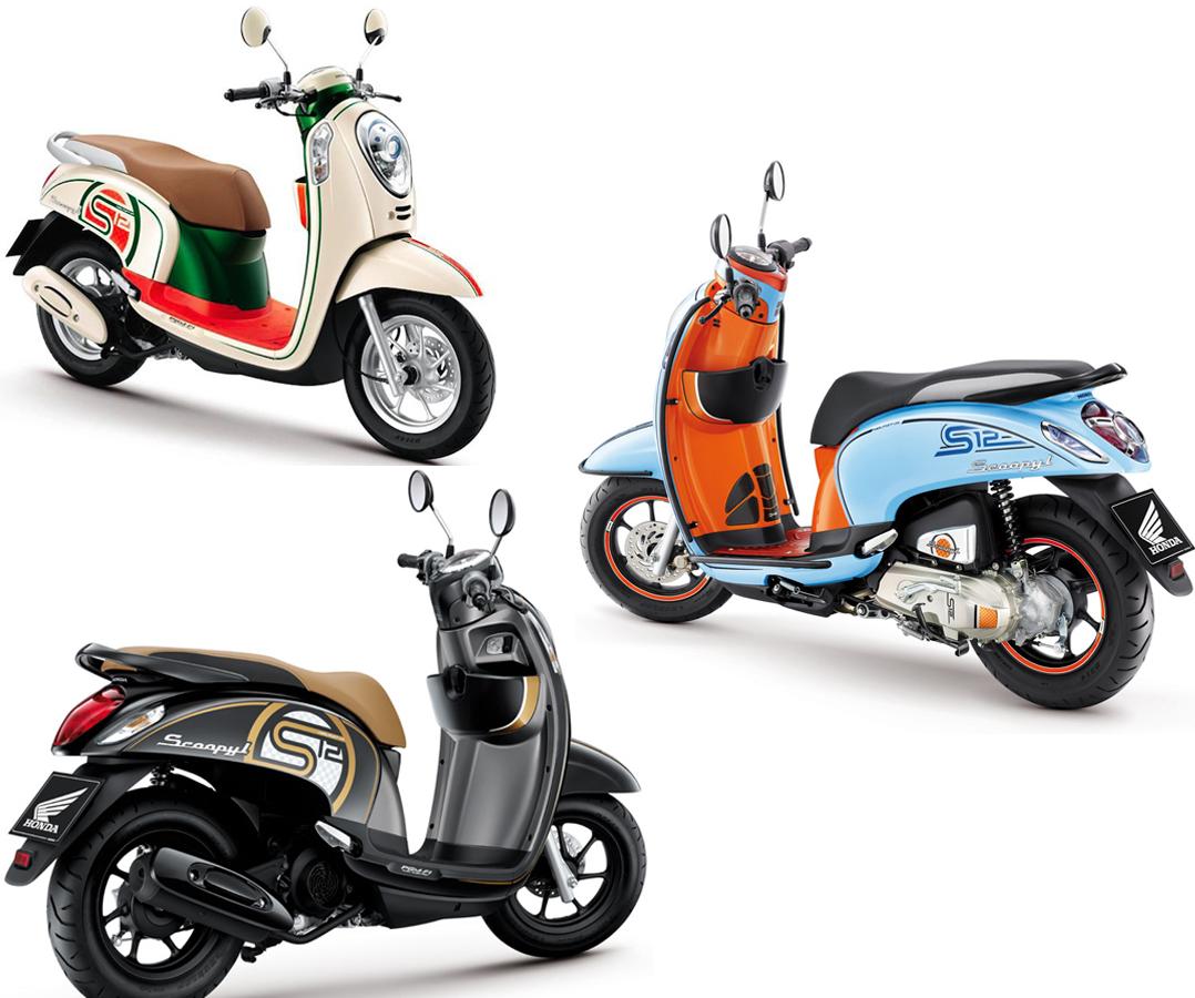 Gambar Sepeda Motor Scoopy Terbaru Terbaik Gentong Modifikasi